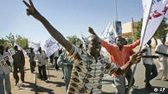 Sudan Demonstrationen