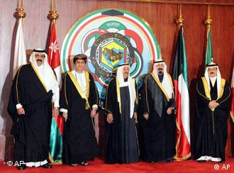 Leaders of the six GCC (Gulf Cooperation Council) countries