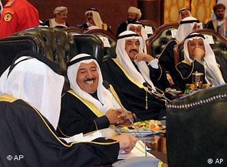 GCC leaders at a meeting