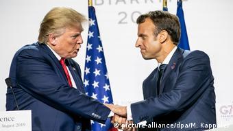 Το ΝΑΤΟ διχάζει Τραμπ και Μακρόν