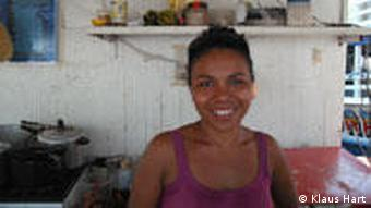 Frau in Manaus (Foto: dw)