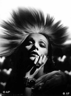 Marlene Dietrich is shown in this undated handout file photo.
