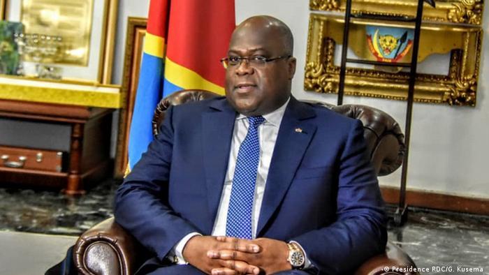 Kongo   Präsident Felix Tshisekedi