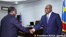 Kongo | Präsident Felix Tshisekedi und Premierminister Sylvestre Ilunga Ilunkamba