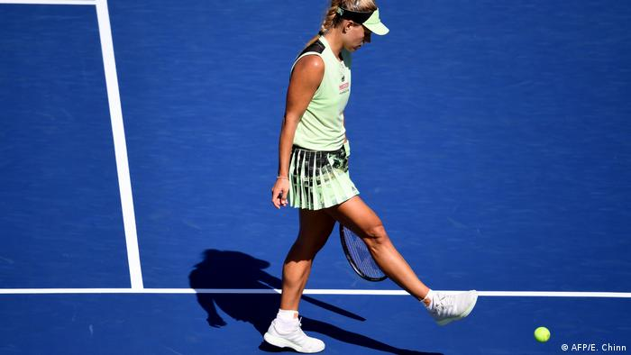 US Open: German tennis star Kerber crashes out in round 1