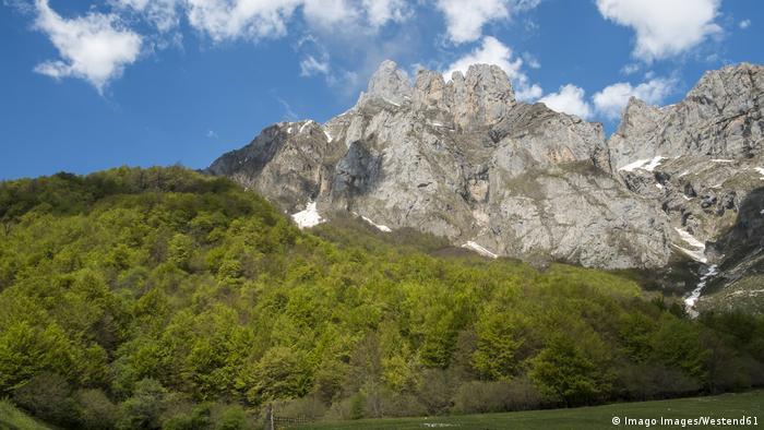 Parque Nacional Picos de Europa, no norte da Espanha