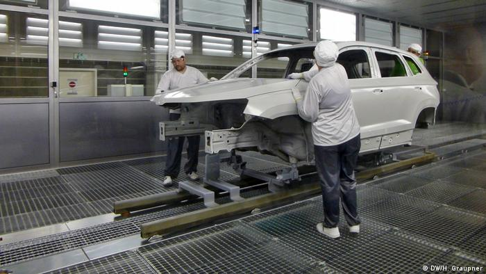 Auto Paint Shop >> Skoda Auto Takes A Shine To Eco Friendly Paint Shops