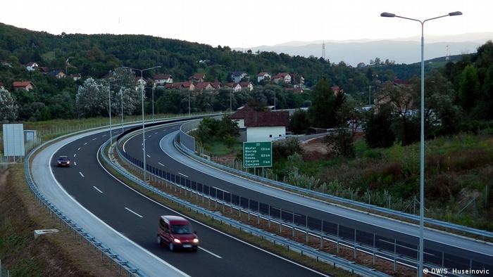 Autobahn in Bosnien