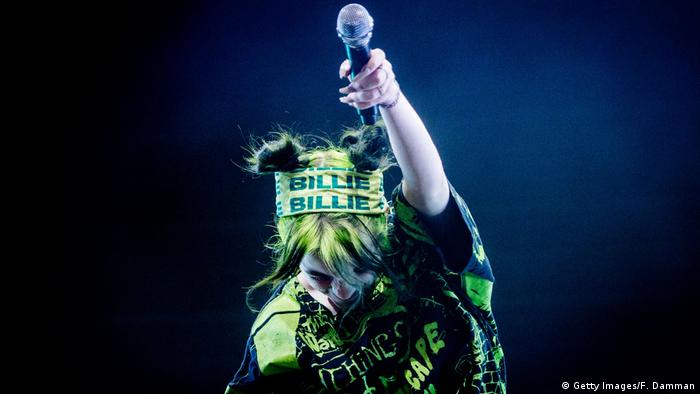 Niederlande Billie Eilish (Getty Images/F. Damman)