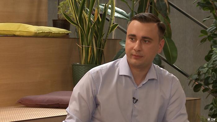 DW Interview Zhanna Nemtsova mit Ivan Zhdanov, Anti-Korruptions-Stiftung