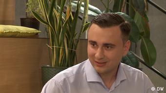 Иван Жданов, директор Фонда борьбы с коррвупцией (ФБК), в интервью DW в августе 2019 года