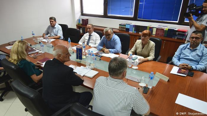 Nord-Mazedonien Staatsanwaltsrat zu Katica Janeva (DW/P. Stojanovski )