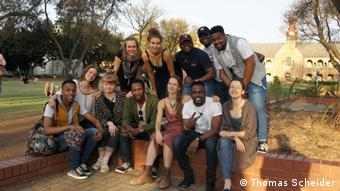 Campus participants of the Beethoven Festival 2019 in South Africa (Thomas Scheider)