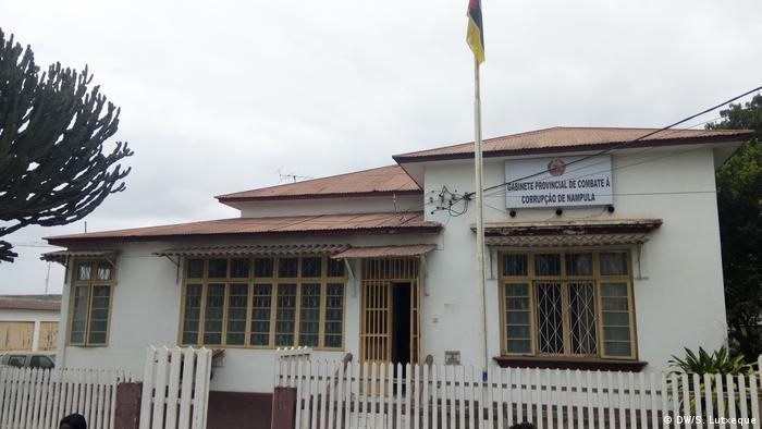 Gabinete Provincial de Combate à Corrupção de Nampula, no norte de Moçambique