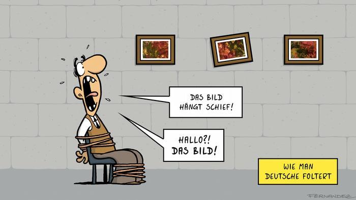 DW Euromaxx Comics von Fernandez Verstehen Sie Deutsch