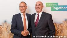 Bayer AG Werner Baumann & Hugh Grant, CEO Monsanto | 2016