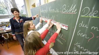 Занятия в начальной школе в Бонне