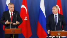 PK Erdogan und Putin