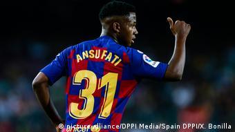 FC Barcelona Ansu Fati