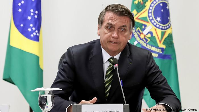 Brasilien Präsident Bolsonaro über Waldbrände