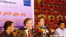 Pressekonferenz von Human Rights Watch Jemen