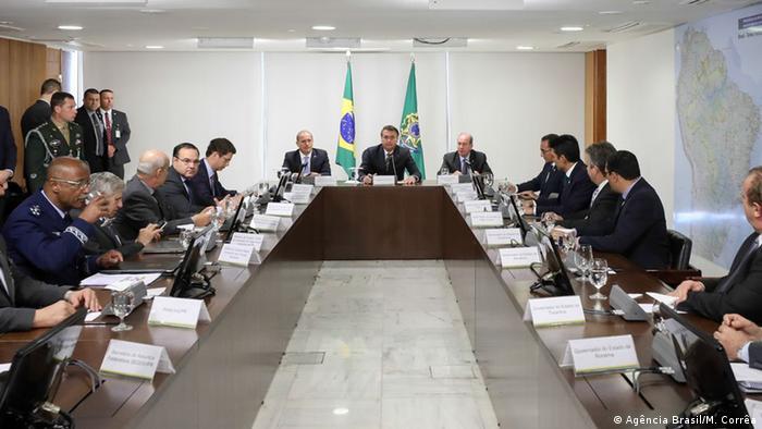Brasilien | Bolsonaro trifft sich mit Amazonas-Gouverneuren (Agência Brasil/M. Corrêa )