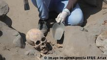 Peru | Archäologen finden Überreste von Kindern , die in einem Ritual der präkolumbianischen Kultur Chimu geopfert wurden