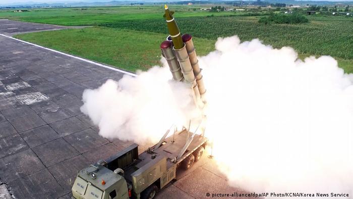 North Korea missile test, Saturday, 24 August, 2019