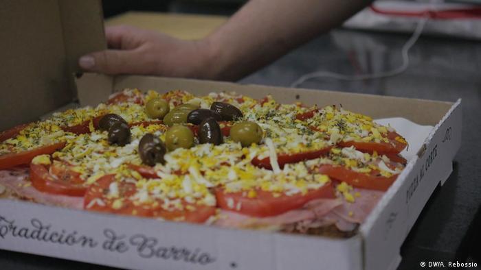 Pizza khas Argentina