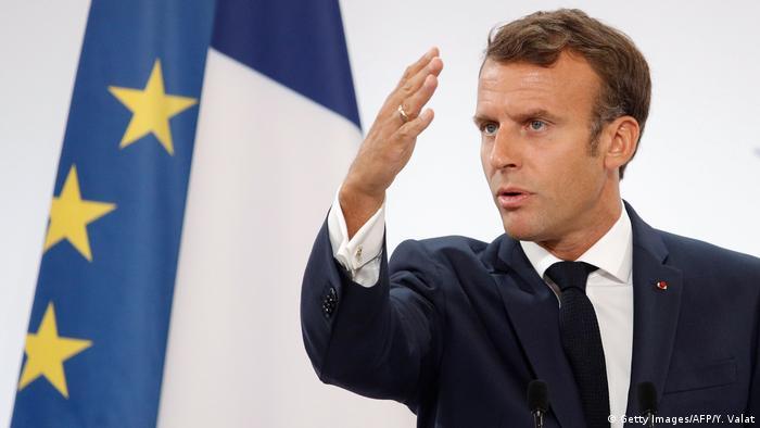 Frankreich Macron Rede bei der jährlichen Botschafter-Konferenz