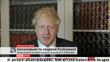 Großbritannien | Brexit | Boris Johnson