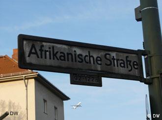 Afrikanische Straßennamen in Berlin (Foto: Katrin Ogunsade)