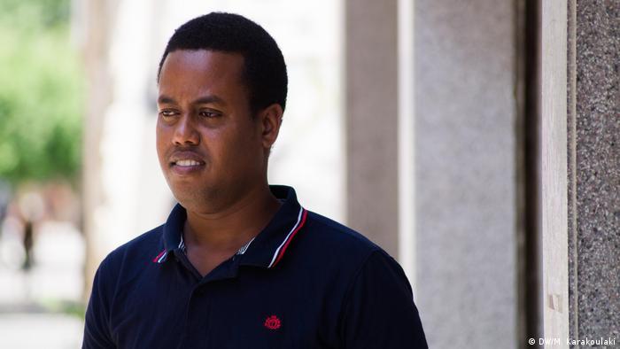 Mohammed, a Somali asylum seeker in Cyprus