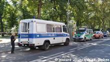 Berlin Moabit | Mann erschossen - Polizei sucht am Tatort nach Hinweisen