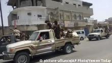 Yemen Streitkräfte Kämpfer