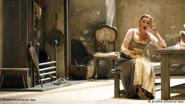 Πρόβες για τη Σταχτοπούτα του Ροσίνι στην Deutsche Oper