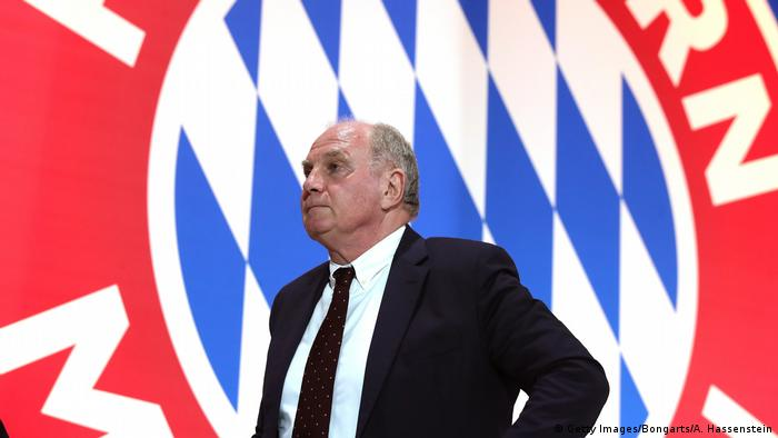 Uli Hoeness (Getty Images/Bongarts/A. Hassenstein)
