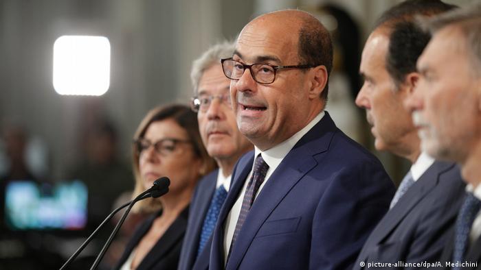 Regierungskrise in Italien Nicola Zingaretti