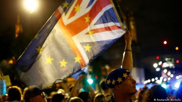 Großbritannien Brexit Proteste
