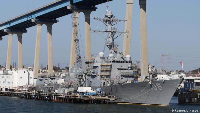 USS Wayne E. Meyer Zerstörer (Reuters/L. Nastro)