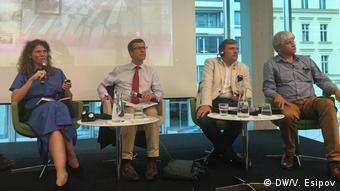 Участники дискуссии в Берлине