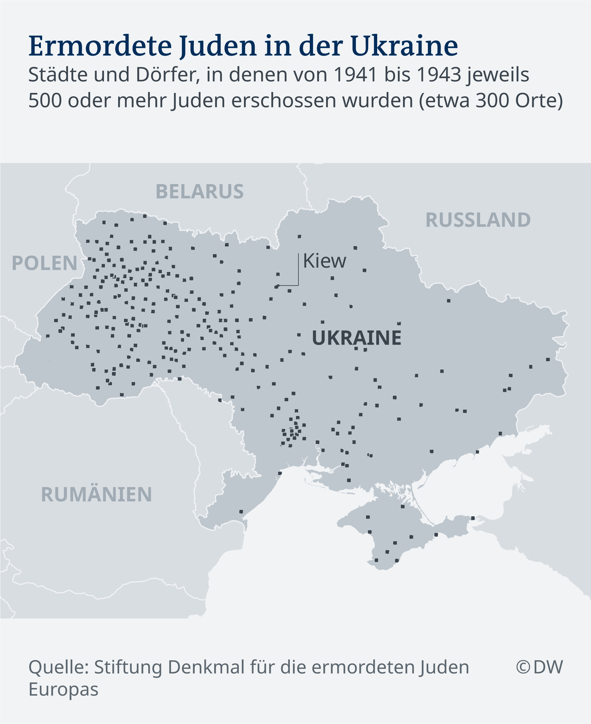 Infografik ermordete Juden Ukraine DE