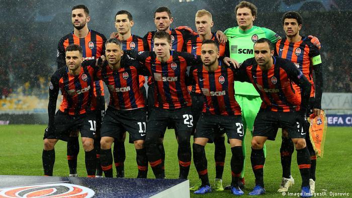 وضع نادي شاختار دونيتسك الأكوراني نادي ريال مدريد في موقف لا يُخسد عليه بعد فوزه 2-0 عليه (أرشيف)