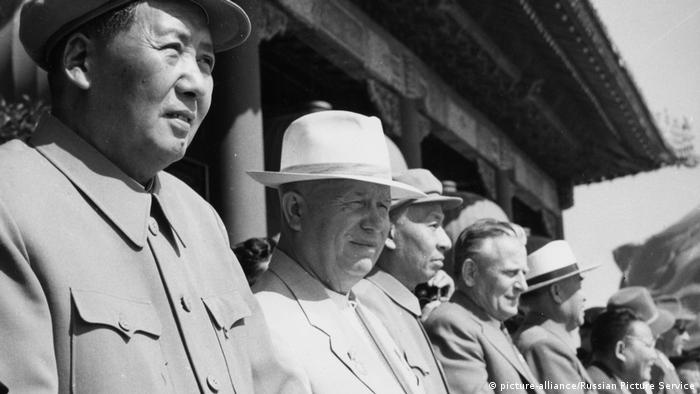Chruschtschow u.Mao Peking 1959