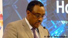 Äthiopien Addis Abeba Home grown economic reform Forum | Demeke Mekonnen
