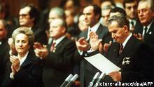 Rumänien 1989 | Diktator Nicolae Ceaușescu & Elena Ceaușescu, Ehefrau
