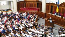 Volodymyr Zelenskyy im Parlament
