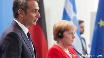 Την ελπίδα ότι η γερμανική πλευρά θα ανταποκρινόταν θετικά στο αίτημα της Ελλάδας για διαπραγματεύσεις είχε εκφράσει τον Αύγουστο στο Βερολίνο ο Κ. Μητσοτάκης