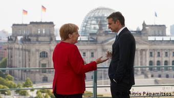 Από τη συνάντηση Μέρκελ-Μητσοτάκη τον Αύγουστο στο Βερολίνο