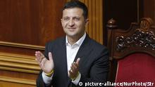 Ukraine Kiew | Erste Sitzung des neu gewählten Parlament mit Volodymyr Zelenskiy
